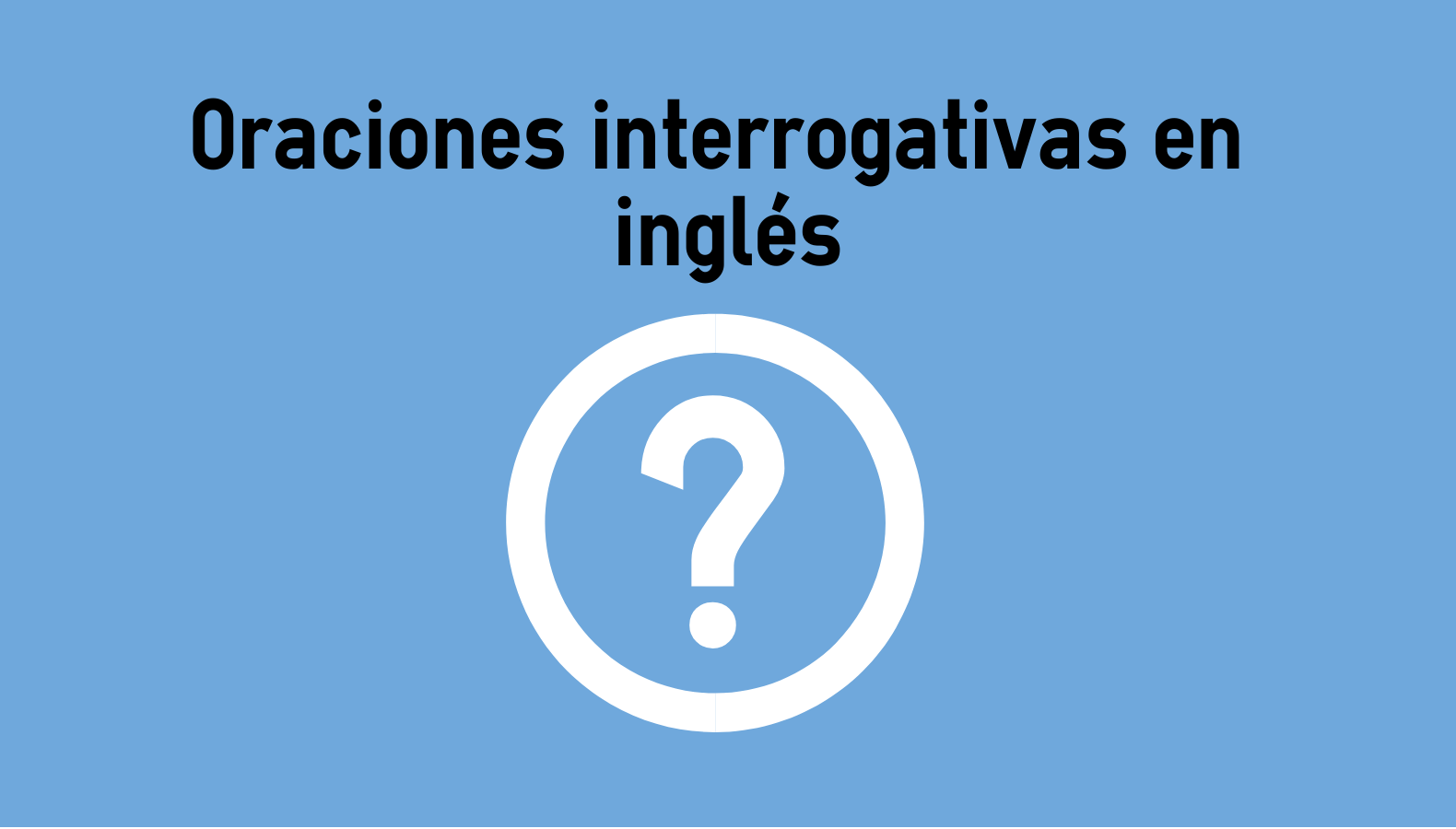 Oraciones Interrogativas En Inglés Colanguage