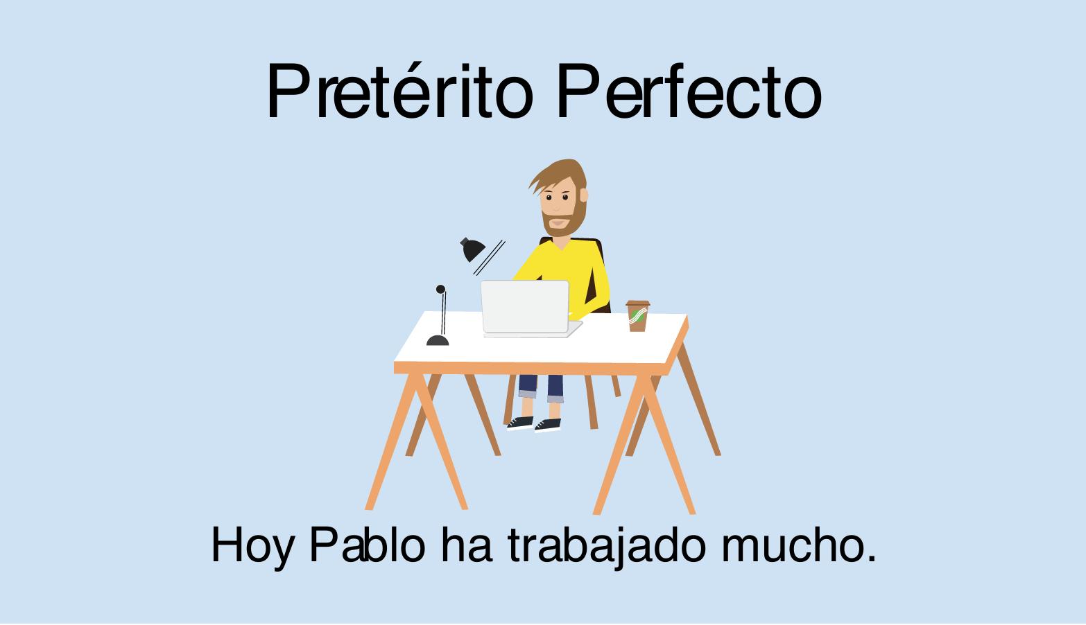 Pretérito Perfecto (pasado compuesto) im Spanischen