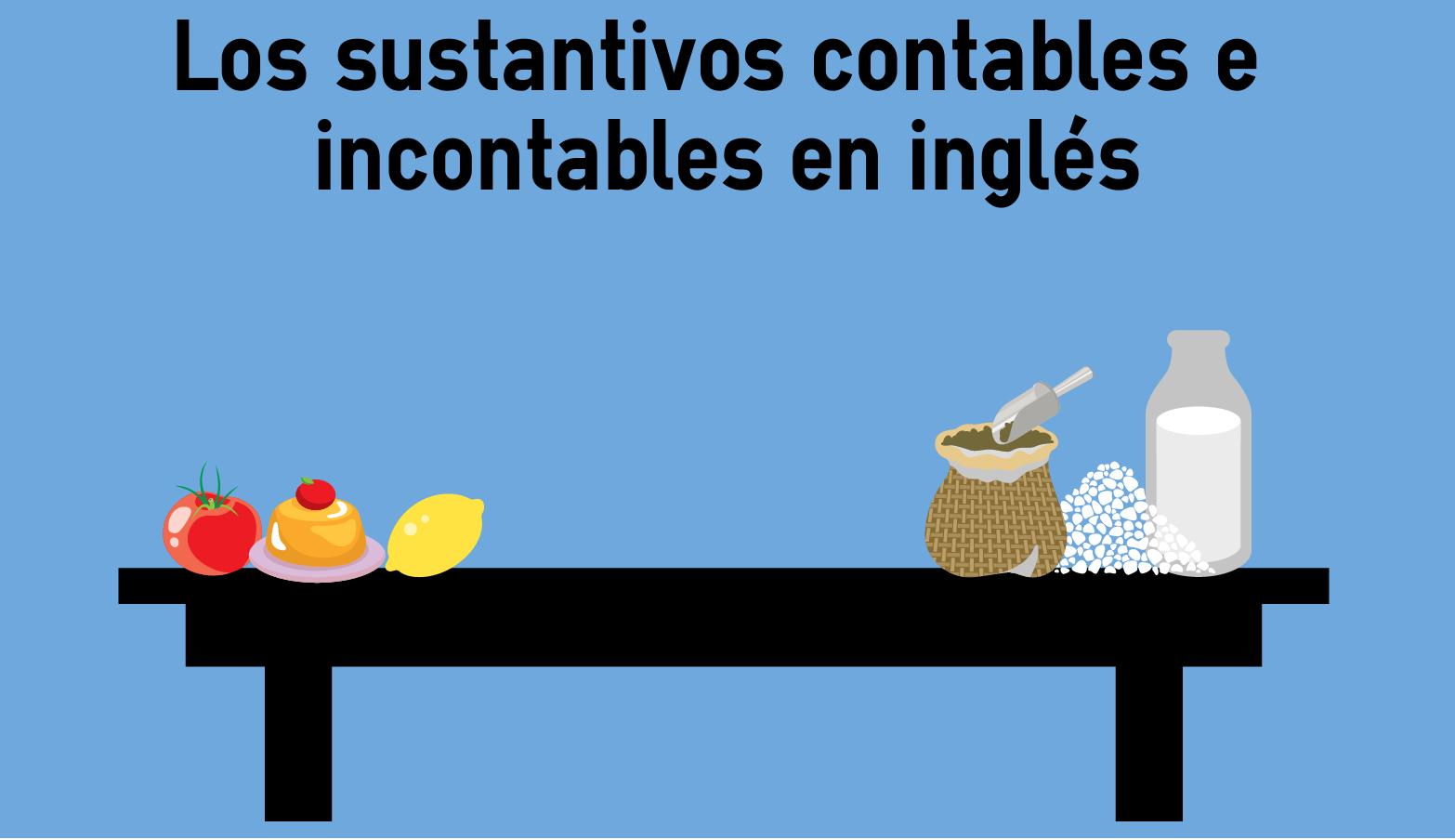 Los Sustantivos Contables E Incontables En Inglés Colanguage