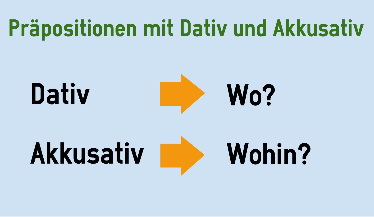 Popular dativ oder akkusativ in69 startupjobsfa for Prapositionen mit akkusativ