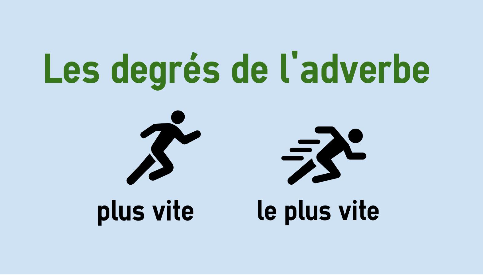 Steigerung der Adverbien im Französischen