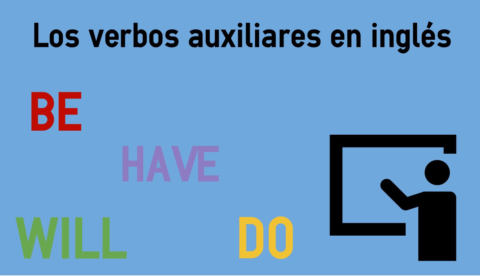 Verbos Auxiliares En Inglés Colanguage