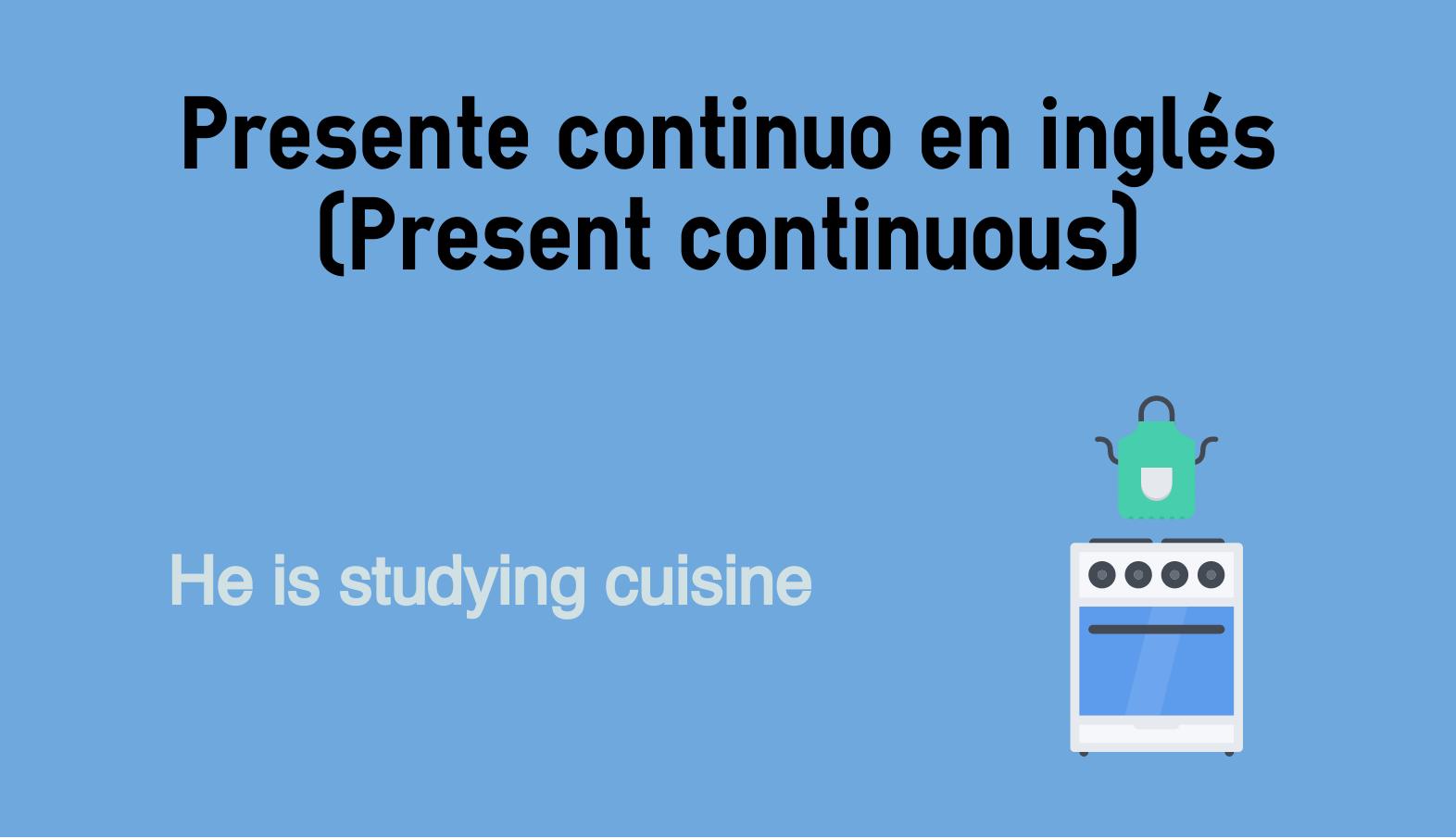 Presente Continuo En Inglés Present Continuous Colanguage