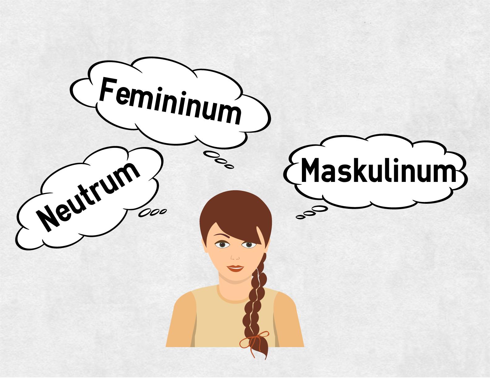 Maskulin feminin neutrum russisch