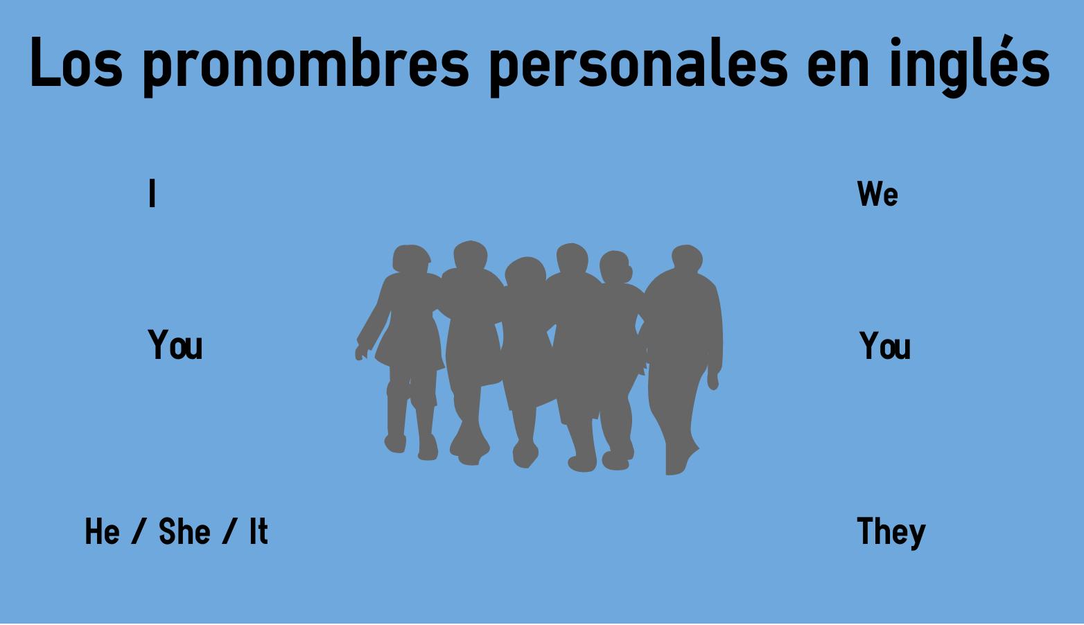 Los Pronombres Personales De Sujeto En Ingles Gratis Con Los Pronombres Personales En Ingl 233 S