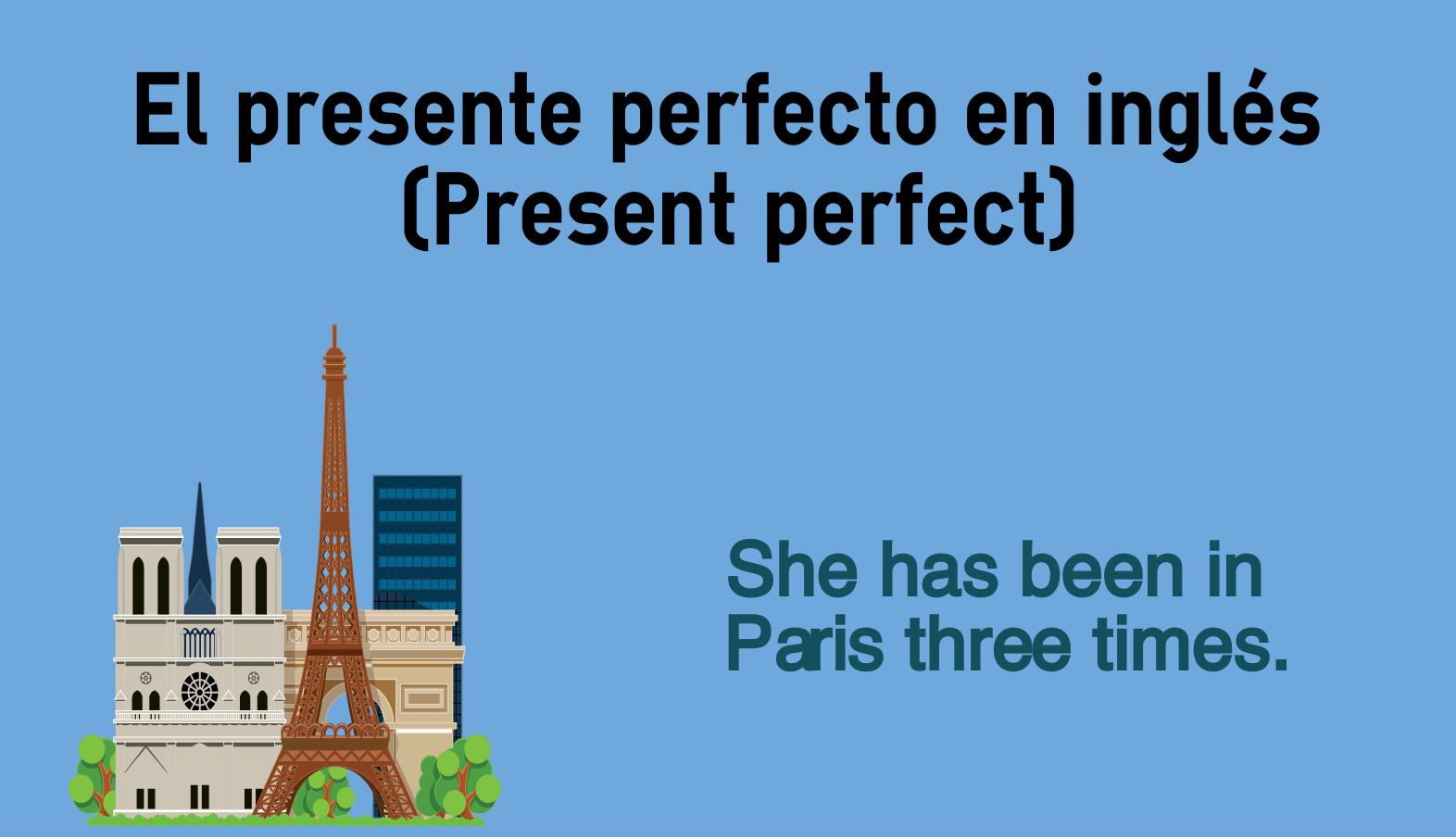 Presente Perfecto En Inglés Present Perfect Colanguage