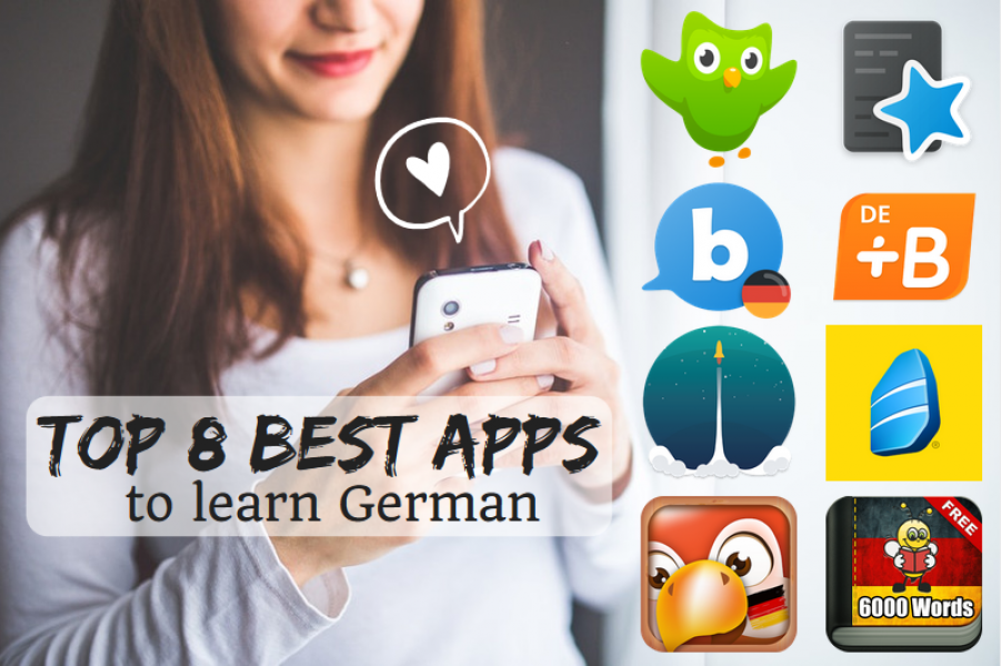 Top 8 best language learning apps for German language | coLanguage
