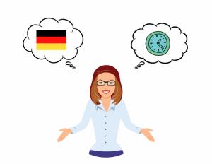 uhrzeit auf deutsch