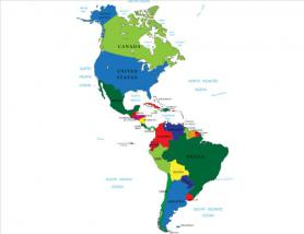 American countries in Spanish
