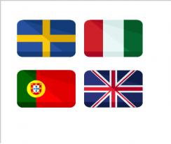 Pays Et Nationalites En Portugais Colanguage