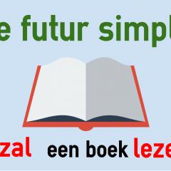 Le Futur Simple En Neerlandais Colanguage