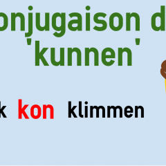 Conjugaison Du Verbe Kunnen Neerlandais Colanguage