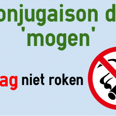 Conjugaison Du Verbe Mogen Neerlandais Colanguage