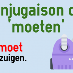 Conjugaison Du Verbe Moeten Neerlandais Colanguage