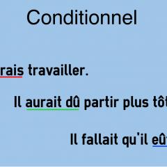 Le Conditionnel Colanguage