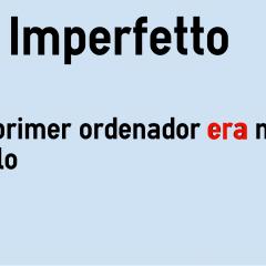 Imperfetto In Spagnolo Colanguage