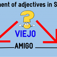 Placement of adjectives in Spanish | coLanguage