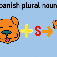 Spanish plural nouns | coLanguage