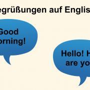 Begrüßungen Auf Englisch Colanguage