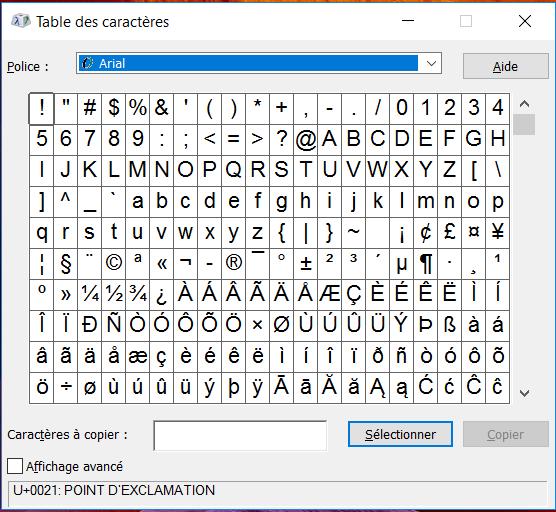 Clavier portugais apprendre faire les accents colanguage - Table des caracteres windows ...